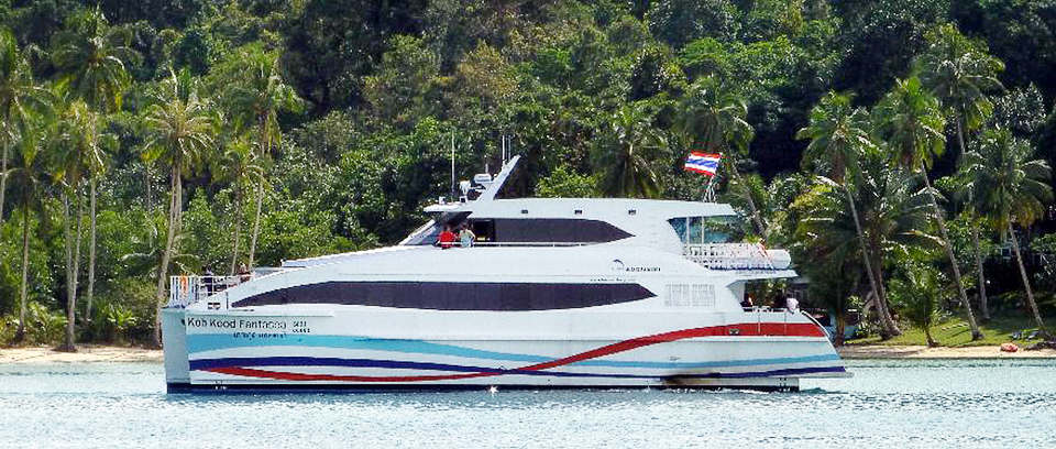 Koh Kood Fantasea catamaran: Safest ferry service to Koh Kood